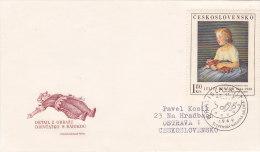 1969 - Julius Bencur Peintre, Painter, Harlequin - FDC