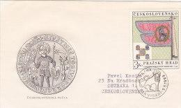 1969 - Prazsky Hrad Château Castle Prague - FDC