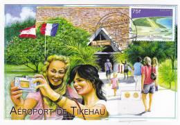 Polynésie Française / Tahiti - Carte Postale 1° Jour 2012 Entier  - Tikehau - Neuve - Polinesia Francesa