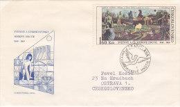 1969 - Mierové Hnutie (Peace Maker) - FDC