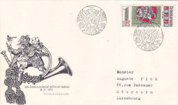 1973 Cesloslovenske Postovni Znamky (service Postal) - FDC