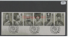 GB 2004 Crimean War Set USED On Piece - Used Stamps