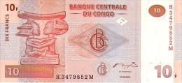CONGO 10 Francs  Daté Du 30-06-2003   Pick 93     ***** BILLET  NEUF ***** - Republic Of Congo (Congo-Brazzaville)