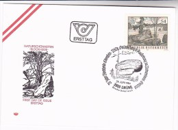 1984 AUSTRIA FDC NATURE LANDSCAPE Stamps SPECIAL Pmk ANNIV GMUND  NATURE PARK Environment - Environment & Climate Protection