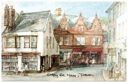 Devon;Ottery, St Mary .David Skip .Postcard - Angleterre