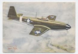NORTH AMERICAN P.51 MUSTANG -RECTO/VERSO -C35
