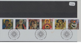 GB 2005 Christmas Set USED On Piece - Used Stamps