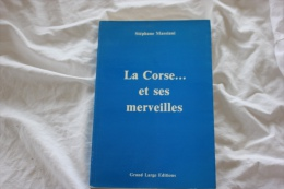 LA CORSE ET SES MERVEILLES STEPHANE MASSIANI - Corse