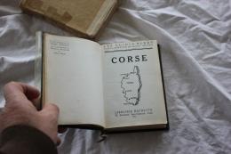 GUIDES BLEUS DE LA CORSE 1962 - Corse