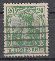 Deutsches Reich - Mi. 143 - Oblitérés