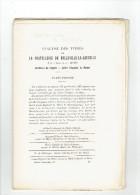 ANALYSE DES TITRES DE LA CHATELLENIE DE BELLEVILLE LA SAUCELLE A LA FRAMBOISIERE LA SAUCELLE PAR L ABBE DENIS VERS 1910 - Centre - Val De Loire