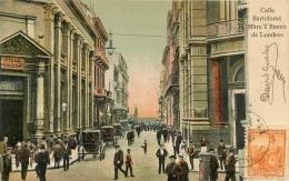 BUENOS AIRES  CALLE BARTOLOME MITRE Y BANCO DE LONDRES  CACHET AU VERSO - Argentine