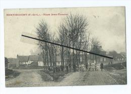 CPA  -   Bertincourt   -   Place Jean Tonnier - Bertincourt