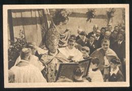 GENOVA SAMPIERDARENA 1930 - IL CARDINALE MINORETTI BENEDICE LA PRIMA PIETRA ORFANOTROFIO - Inaugurazioni