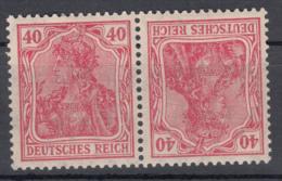 Deutsches Reich - Zusammendrück K3 ** - Se-Tenant
