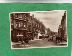 Worksop Bridge Street (Nottinghamshire - England - W. Curr & Son - Freeman Hardy & Willis United - Mazda - Barclays Bank - Angleterre