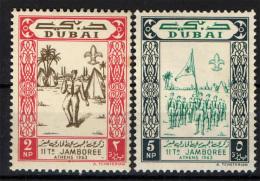 DUBAI - 1964 - SCOUTISMO - NUOVI MNH - Dubai
