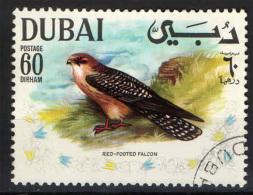 DUBAI - 1969 - RED-FOOTED FALCON - USATO - Dubai