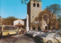 TRIESTE Cattedrale Di San Giusto, Animata Con Autobus Ed Auto D´epoca Car FIAT 850 500 Familiare 600 Ed Altre - Trieste