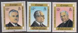 Gibraltar 1980 Europa Mint Never Hinged Set - Europa-CEPT