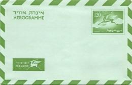Aerogramme - Israel - Unused - Airmail