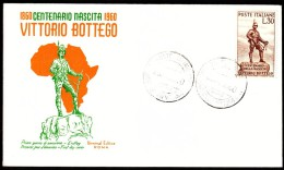 Italy Parma 1960  Explorer Vittorio Bottego Africa - Esploratori