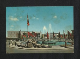 Afghanistan Picture Postcard Khayber Restaurant Kabul View Card - Afghanistan