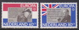 Netherland 1980 Europa Mint Never Hinged Set - Europa-CEPT