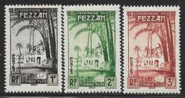 Libya, Fezzan Scott # 2N1-4 Mint Hinged Postage Due, Oasis Of Brak, 1950 - Unused Stamps