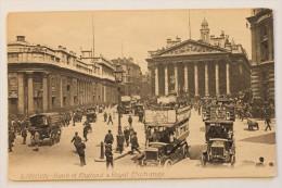 LONDON, Bank Of England & Royal Exchange - London