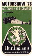 ADESIVO - STICKER - MOTORSHOW 1978 - Vignettes Autocollantes