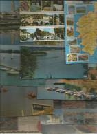 LOT DE 2500 CARTES POSTALES MODERNES , état Standard , FRAIS INCOMPRESSIBLE FR : 56.50€ - Postcards