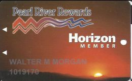 Pearl River Resort Casinos Choctaw, MS Slot Card - Last Line Indented On Reverse - Casino Cards