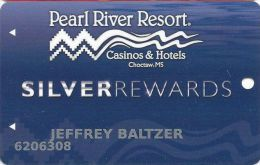 Pearl River Resort Casinos Choctaw, MS Slot Card - Casino Cards