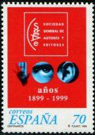 SP1897 Spain 1999 Reporters Club 1v MNH - 1931-Hoy: 2ª República - ... Juan Carlos I