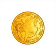 ANNEE DU CHEVAL 2014 - 50 € OR MONNAIE DE PARIS - COFFRET D'ORIGINE ET CERTIFICAT D'AUTHENTICITE - France