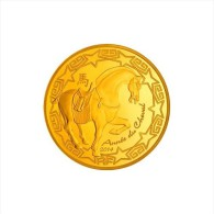 ANNEE DU CHEVAL 2014 - 50 € OR MONNAIE DE PARIS - COFFRET D'ORIGINE ET CERTIFICAT D'AUTHENTICITE - Frankreich
