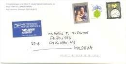 2011. USA, The Letter By Air-mail Post From Alexandria(Virginia) To Moldova - Vereinigte Staaten