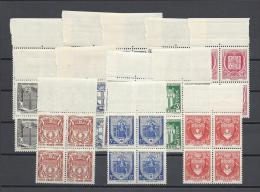 FRANCE 1941 Nº 526/537 ** BLOCKS SECOURS NATIONAL TTB - Unused Stamps