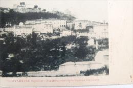 GROTTAMMARE SUPERIORE -  (ASCOLI) - PANORAMA VISTO DALLA STAZIONE FERROVIARIA 1901 CARTOLINA DI 115 ANNI!!! - Italia