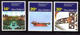 New Zealand 1979 Parliamentary Conference Set - MNH - New Zealand