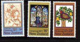 New Zealand 1977 Christmas Set - MNH - New Zealand