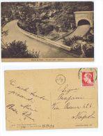 ROCCA DI PAPA ( ROMA ) VIA DEI LAGHI - GALLERIA - EDIZ. SANTANGELI - 1938 - Italia
