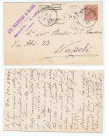 BENEVENTO - S. LUPO - AVV. FRANCESCO DE BLASIO - CART.  AUTOGRAFA 1909 - Benevento