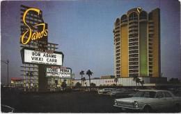 LAS VEGAS  (cpsm Névada ) SANDS HOTEL On The Strip  Pub Pour Louis PRIMA - Las Vegas