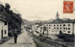 64 ALDUDES L´Entrée Du Village - Aldudes