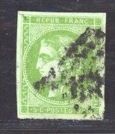 CLX 2275 :  YV  42B  (o)   Signé Brun - 1870 Bordeaux Printing