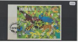 GB 2011 World Wildlife Fund WWF Miniature Sheet USED On Piece - 1952-.... (Elizabeth II)