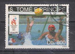 Sports  Water Polo S.Tome E Principe 1993 Sc Nr 1154 (a3p32)