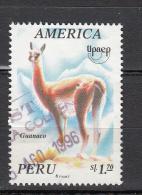 Peru 1995 Mi Nr 1550 Dieren, Animal, Lama, Guanako - Peru